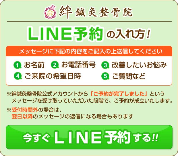 LINE予約の手順